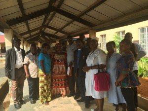 UMC Donates to Kono Government hospital District Superintendent and Medical Team With Staff of Kono Government Hospital