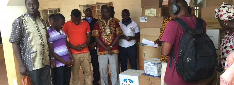 Church Donates To Government Hospitals